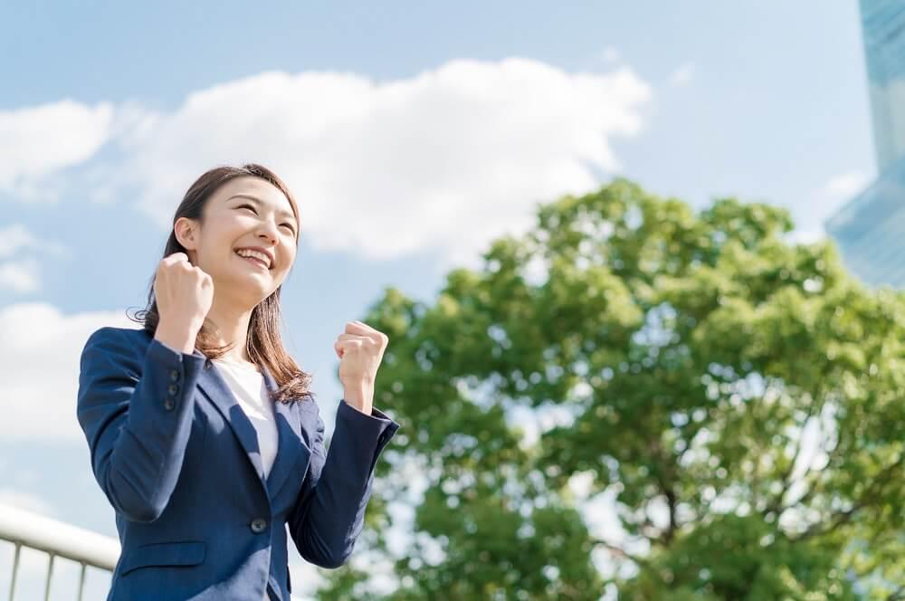 モチベーションアップが高い社員のイメージ