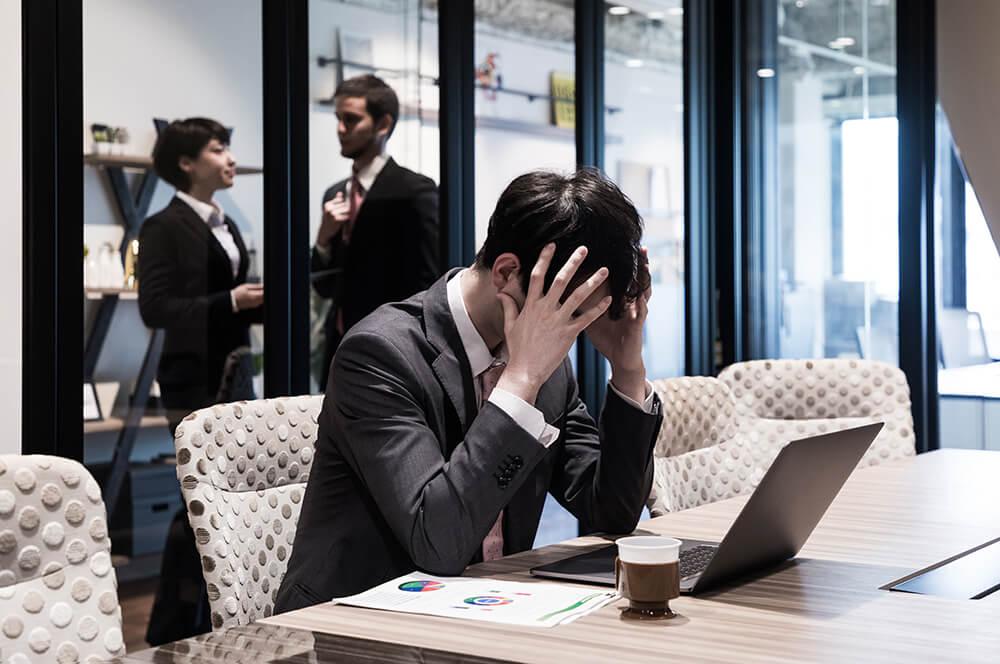 従業員が退職する兆候のイメージ