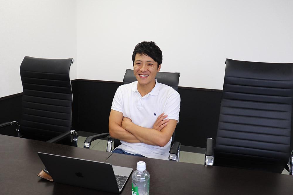 サイバーブル代表の中田氏の写真