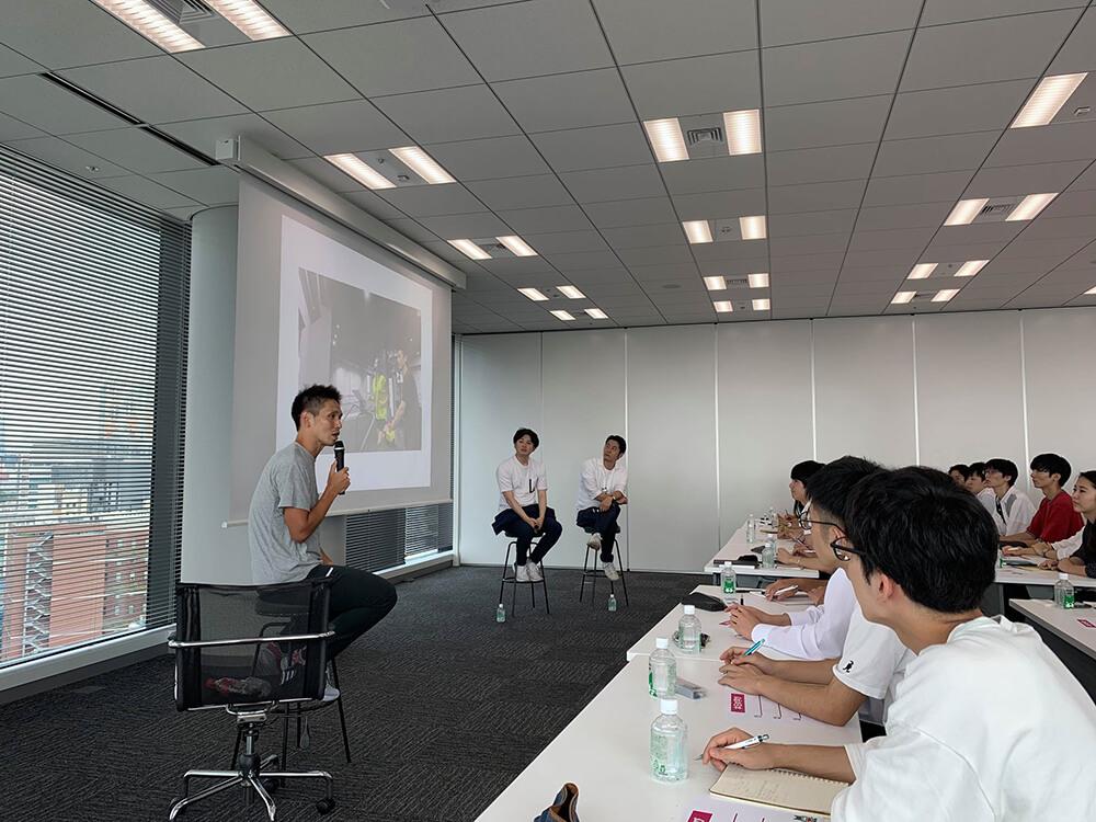 学生向けのイベント「メガベンチャーにおける事業創造」において当社の渡邊が社内ベンチャー・イントレプレナーとしてのキャリア形成について様々な議論を展開しました。