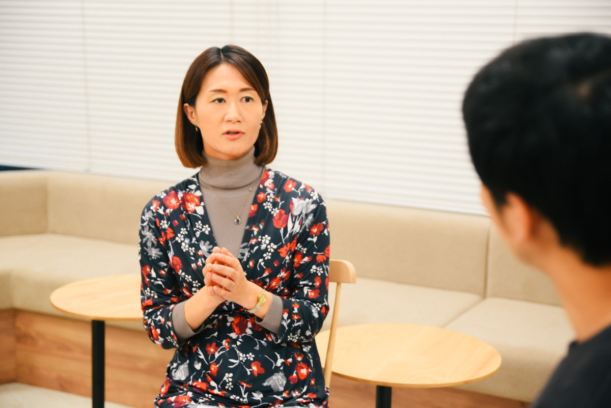 Geppoのコストパフォーマンスについて語る宗梨恵子さん