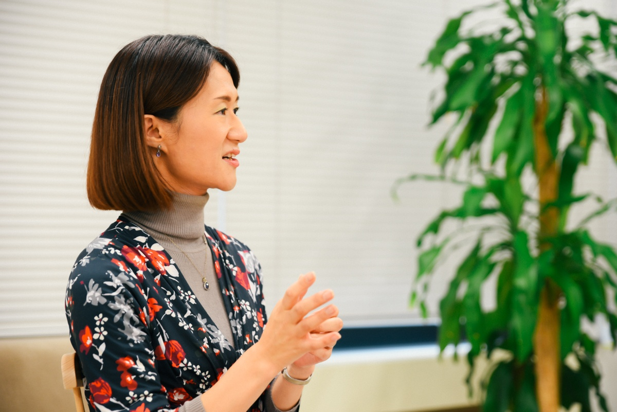 Geppoで離職率改善につながったと語る宗梨恵子さん