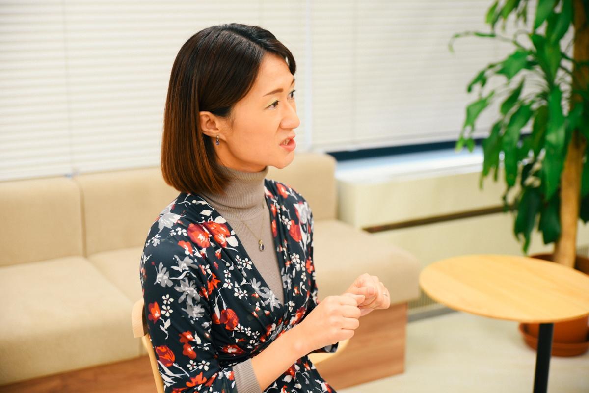Geppoの運用の重要性について語る宗梨恵子さん