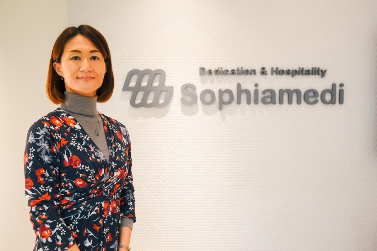 ソフィアメディ株式会社人事・総務部部長の宗梨恵子さん