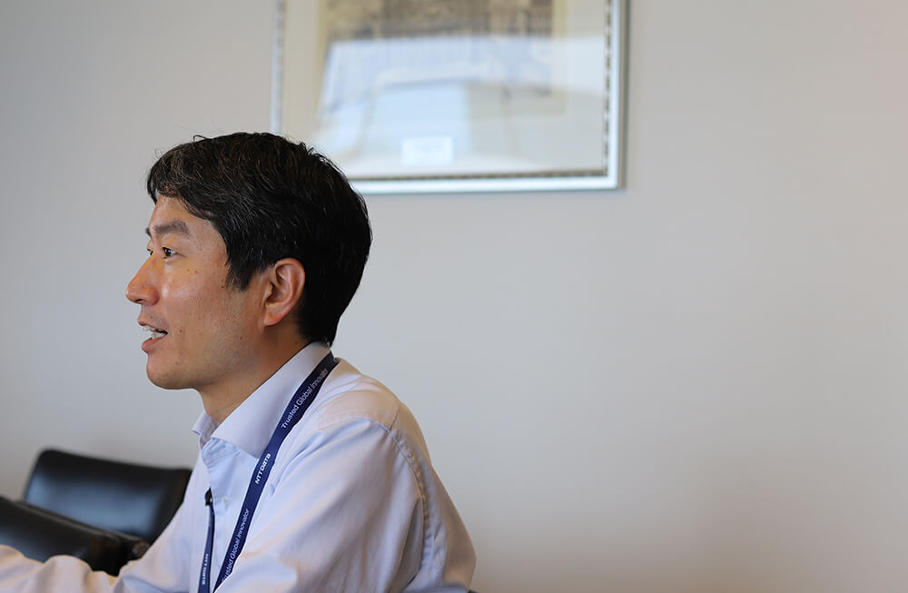 Geppoに適した組織や会社について語る細田さん