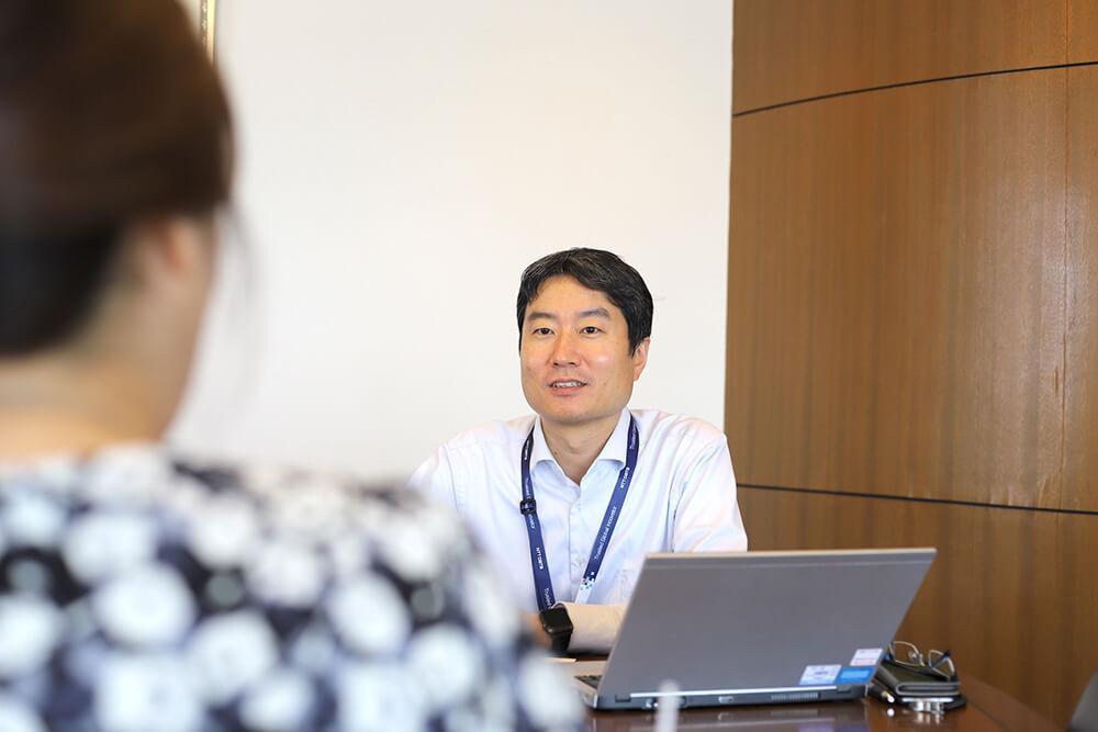 オリジナルの質問項目をこれからも積極的に活用していきたいと語る細田さん