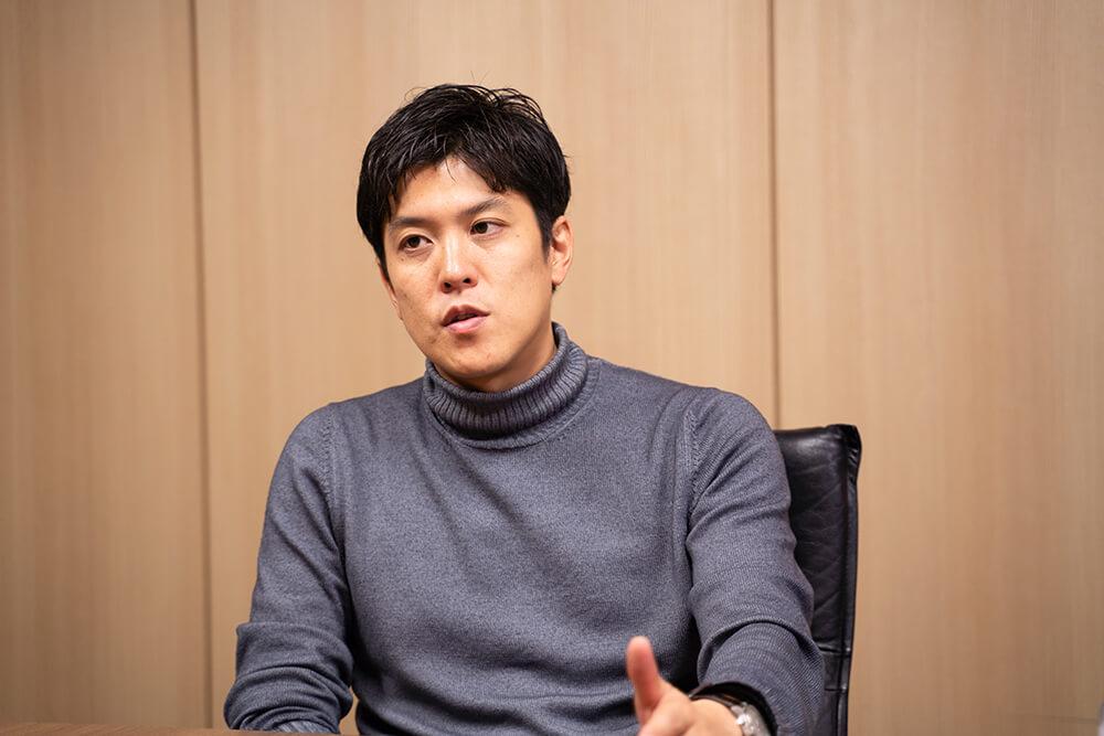 Geppo担当部長加々美氏の写真