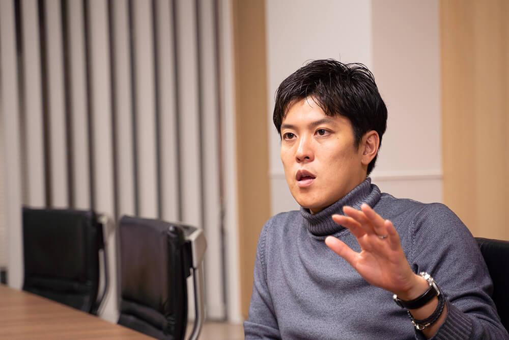 Geppoのリアルタイム性と対応策について語る加々美氏