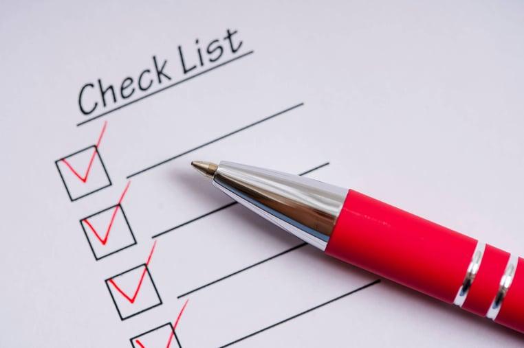 従業員満足度のチェックリスト