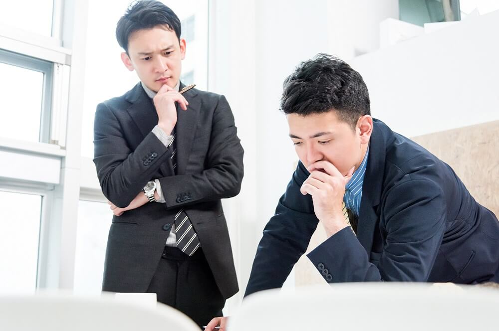 意識改革に取り組む社員のイメージ